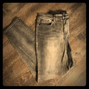 NYDJ Sheri Slim Jean RARE!!!!! Gray fade Size 8!